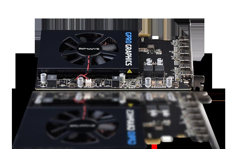 SAPPHIRE GPRO 6200 4G GDDR5 PCI-E EYEFINITY 6 EDITION