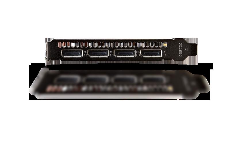SAPPHIRE GPRO 8200 8G GDDR5 PCI-E QUAD DP