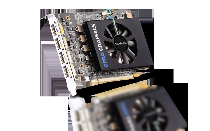 SAPPHIRE GPRO E9260 8G GDDR5 PCI-E QUAD DP