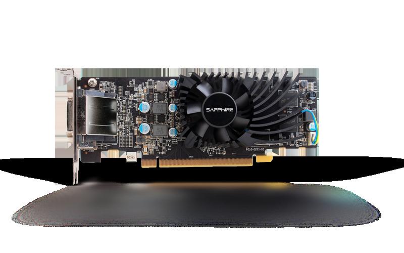 SAPPHIRE PULSE Radeon RX 550 4GB GDDR5 Low Profile