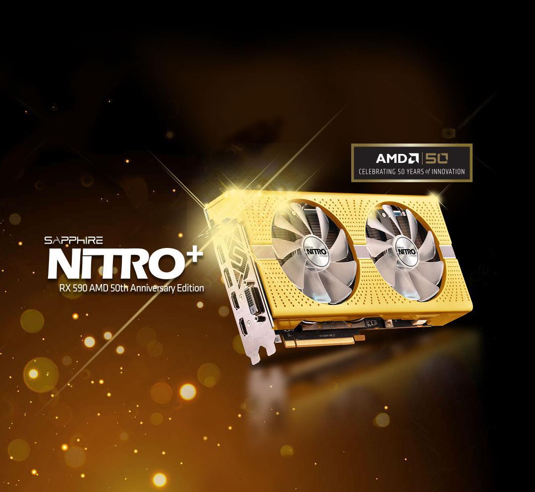 nitro rx590 amd gold