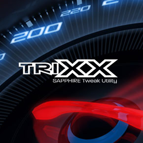SAPPHIRE TriXX Software